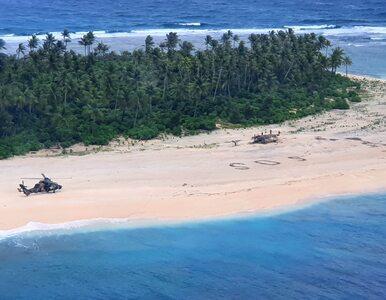 """Zostawili znak """"SOS"""" na plaży. Marynarzy poszukiwano przez trzy dni"""