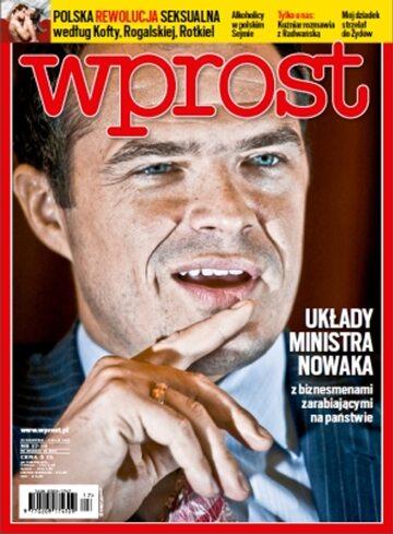 Okładka tygodnika WPROST: 17/2013