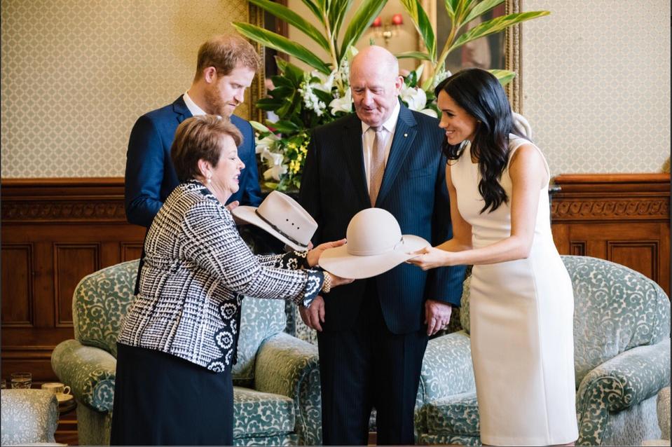 Księżna Meghan iksiążę Harry zwizytą wAustralii