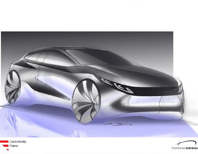 Tak będzie wyglądał polski samochód elektryczny. Mamy wizualizacje....