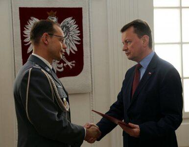Szef MSWiA wręczył akt mianowania nowemu Komendantowi Stołecznemu Policji