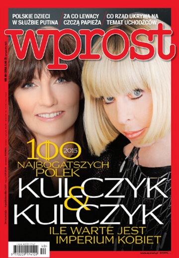 Okładka tygodnika Wprost nr 40/2015 (1699)
