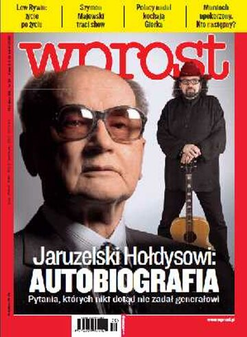 Okładka tygodnika WPROST: 30/2011