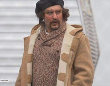 Johnny Depp nie do poznania na planie nowego filmu