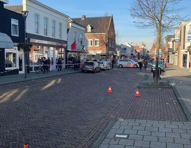 Polak zaatakował w Holandii trzech policjantów. Zdarzenie uwieczniono na...