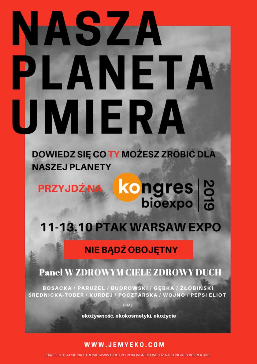 Kongres BioExpo Ptak Warsaw