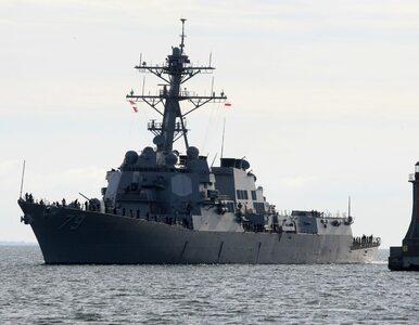 Amerykański niszczyciel jest w porcie w Gdyni