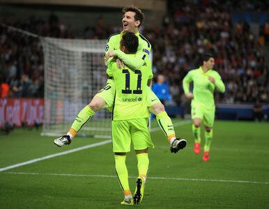 LM: Cztery gole w Paryżu. Barcelona jedną nogą w półfinale