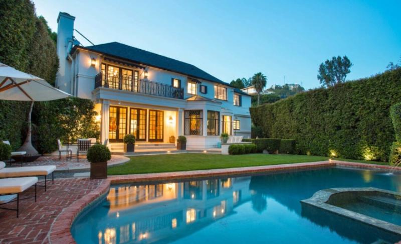 Dom w Sunset Strip w Los Angeles