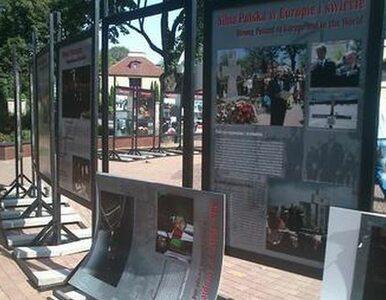 """Wystawa o Kaczyńskim zniszczona. """"Oby to nie była nienawiść motywowana..."""