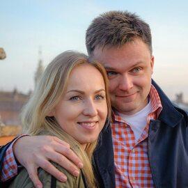 Szymon Hołownia i jego żona Urszula Brzezińska Hołownia