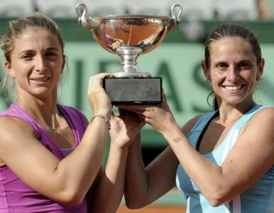 Roland Garros: Errani i Vinci triumfują w finale debla