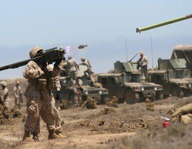 Terroryści z tzw. Państwa Islamskiego ostrzeliwują rakietami samoloty...
