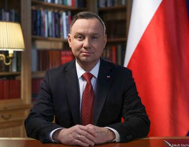 """Andrzej Duda wygłosił orędzie. """"Zwołałem posiedzenie RBN"""""""