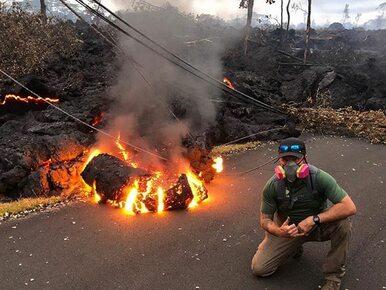 Erupcja wulkanu Kilauea. Eksperci ostrzegają, że może skończyć się...
