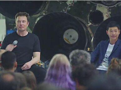 Miliarder z Japonii zapłaci SpaceX, by polecieć na Księżyc. Zabierze...