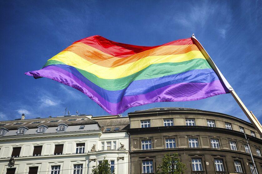 Flaga LGBT, zdjęcie ilustracyjne