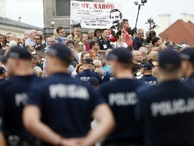 Macierewicz o kontrmanifestacji 10 lipca: Skandowali nazwisko jednego z...