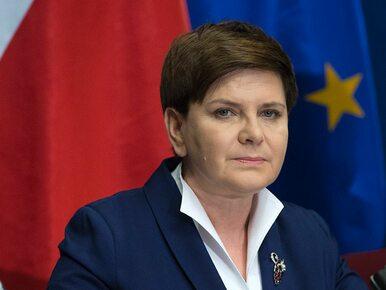 Przykra informacja dla Beaty Szydło. 40 proc. Polaków pozytywnie ocena...