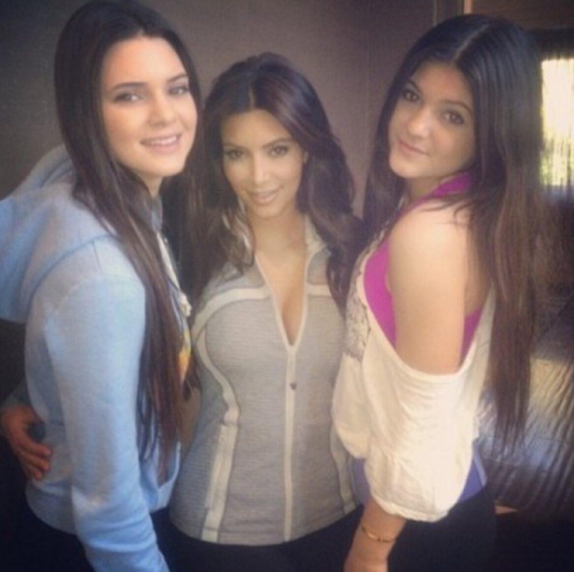 Kendall, Kim i Kylie