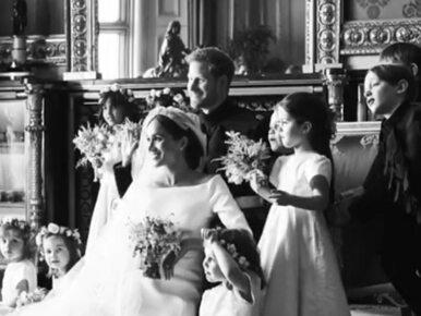 Pierwsza rocznica ślubu Meghan i Harry'ego. Są nowe zdjęcia z ceremonii