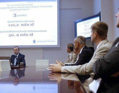 Zdrojewski: 176,5 mln zł dostanie kultura z unijnych funduszy