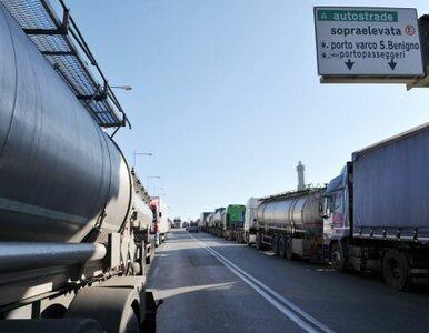 Włochy: kierowcy strajkowali, 100 tys. ton żywności trzeba wyrzucić