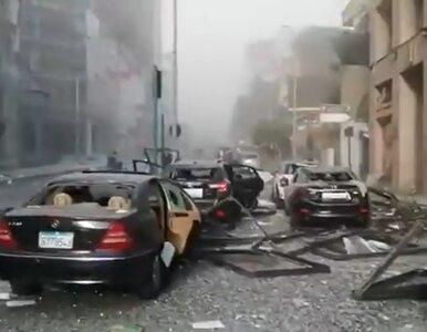 Ogromna eksplozja w Bejrucie. Nagrania pokazują apokaliptyczny krajobraz...