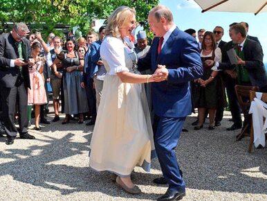 Są zdjęcia z wizyty Władimira Putina na ślubie szefowej austriackiego...