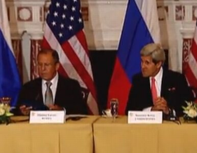 Kerry spotkał się z Ławrowem. Tematem rozmów - Snowden