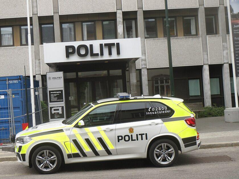 Norweska policja, zdjęcie ilustracyjne