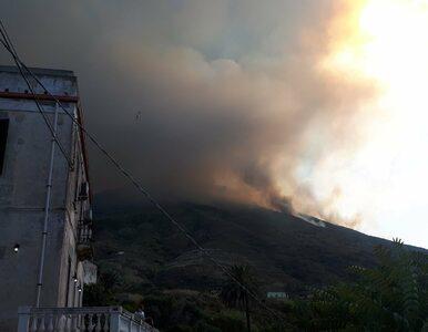 Wybuch wulkanu we Włoszech, nie żyje jedna osoba. Pojawiły się nagrania