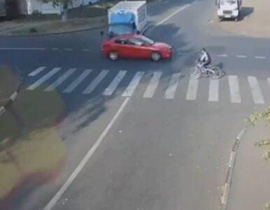 Najszczęśliwszy rowerzysta na świecie? Cudem uniknął śmierci - zobacz...