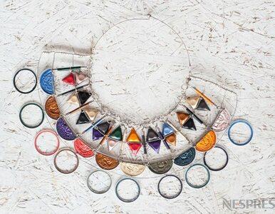 Kolekcja biżuterii z kapsułek po kawie