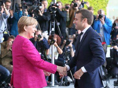 """Macron i Merkel chcą """"mapy drogowej"""" dla UE i strefy euro. Padła też..."""