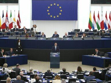 Przyszłość UE oczami Morawieckiego. O czym w Strasburgu mówił premier?
