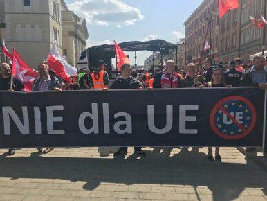Warszawa. Ruszył antyunijny Marsz Suwerenności