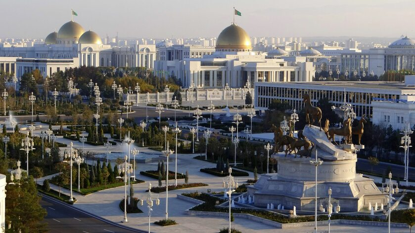Aszchabad, stolica Turkmenistanu
