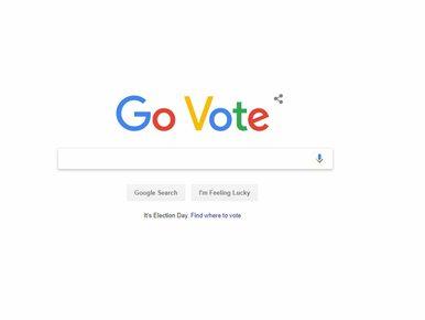 """Google zmieniło nazwę na """"Go Vote"""". Wielka mobilizacja w USA"""