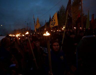 Tysiące Ukraińców wzięło udział w marszu ku czci UPA i Bandery