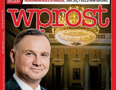 Wywiad z Andrzejem Dudą i raport o koronawirusie. Co jeszcze w nowym...
