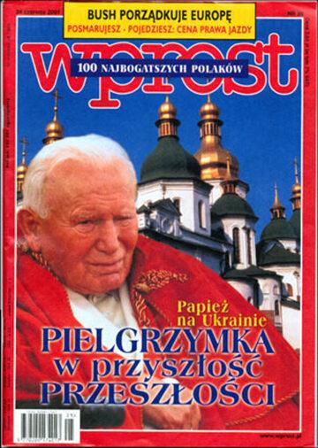 Okładka tygodnika WPROST: 25/2001